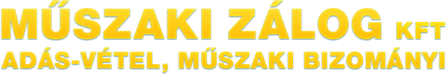 Műszaki Zálog Kft. logo