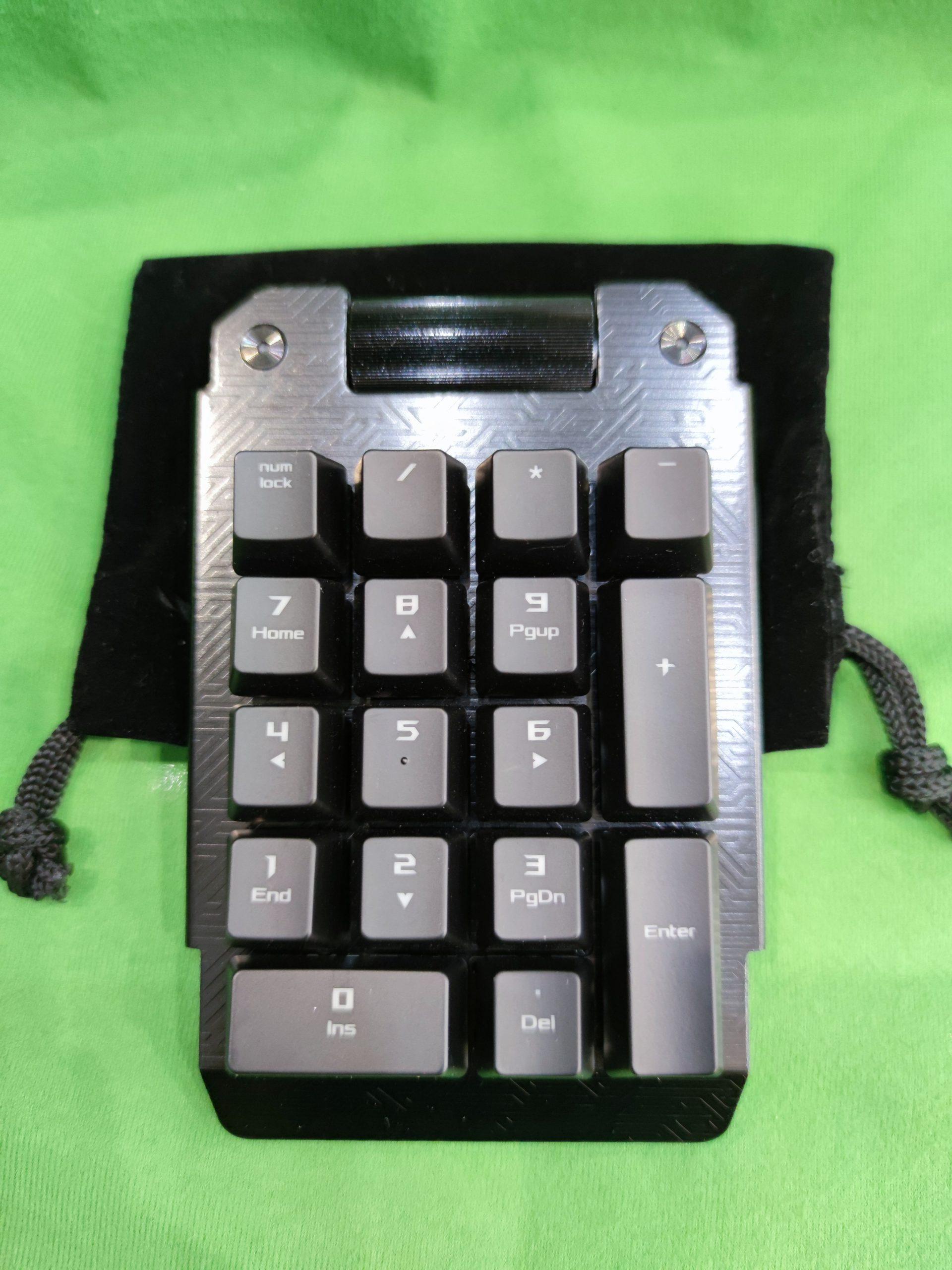 Asus ROG MA01 Claymore numerikus pad, kiemelt kép