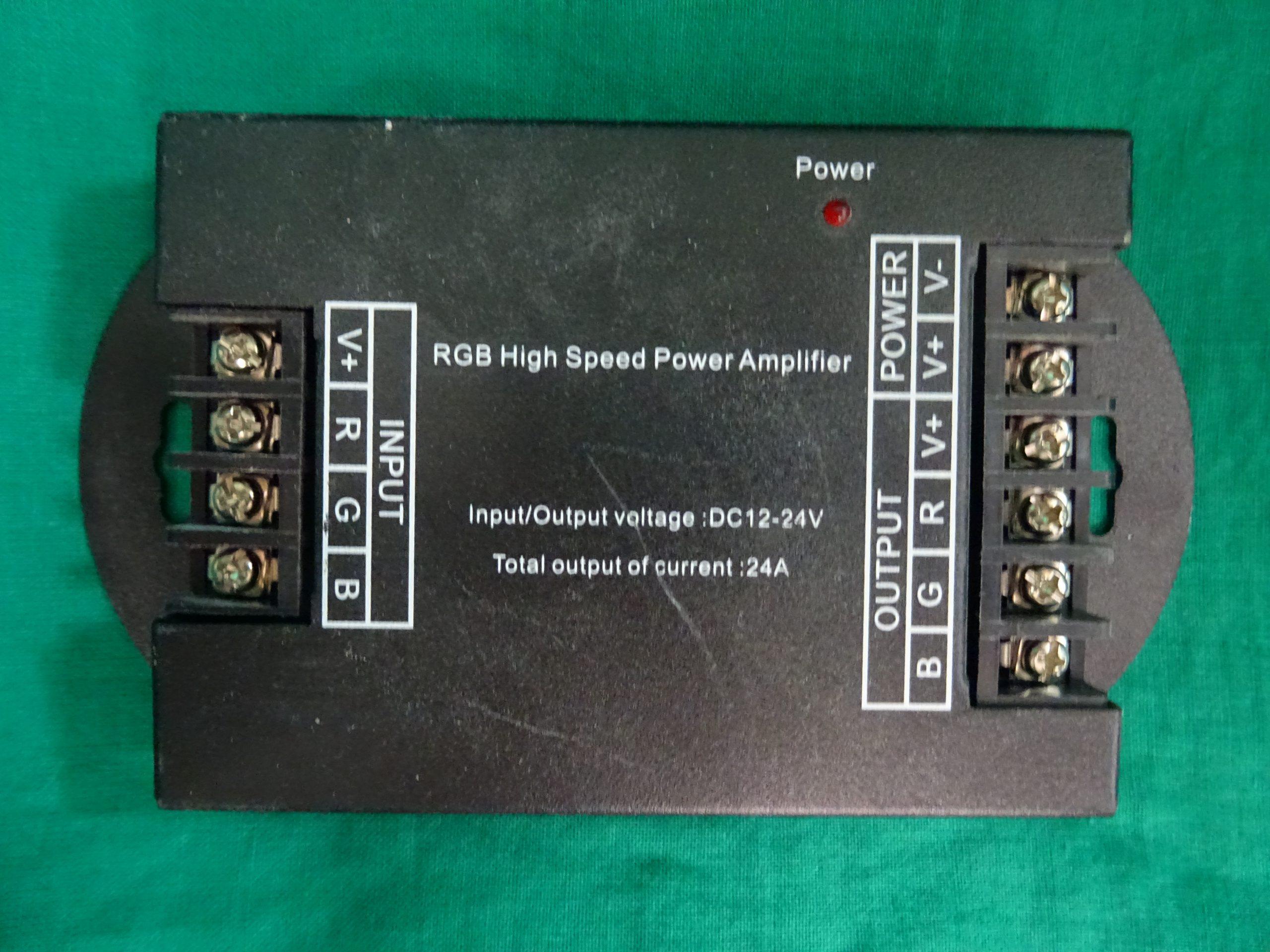 Eladó egy használt RGB nagy sebességű erősítő., kiemelt kép