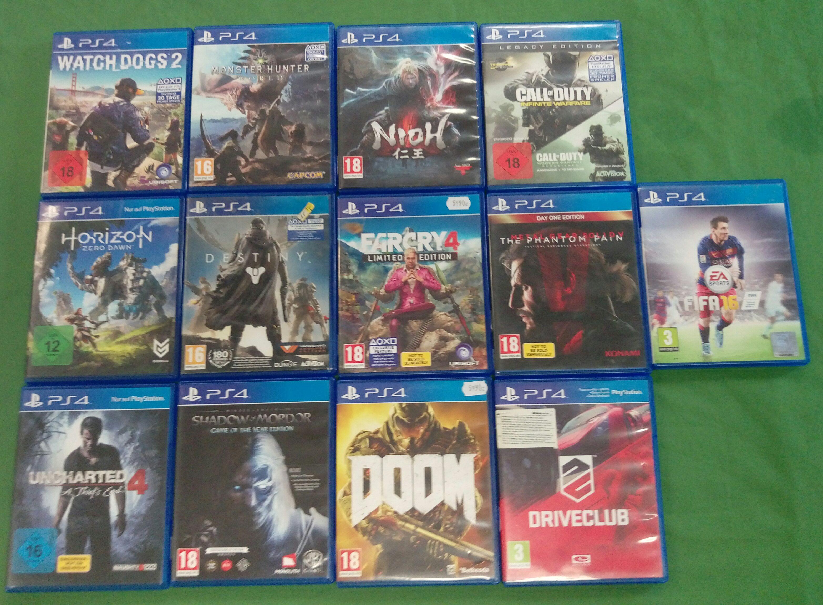 PS4 játékok adás-vétel, kiemelt kép