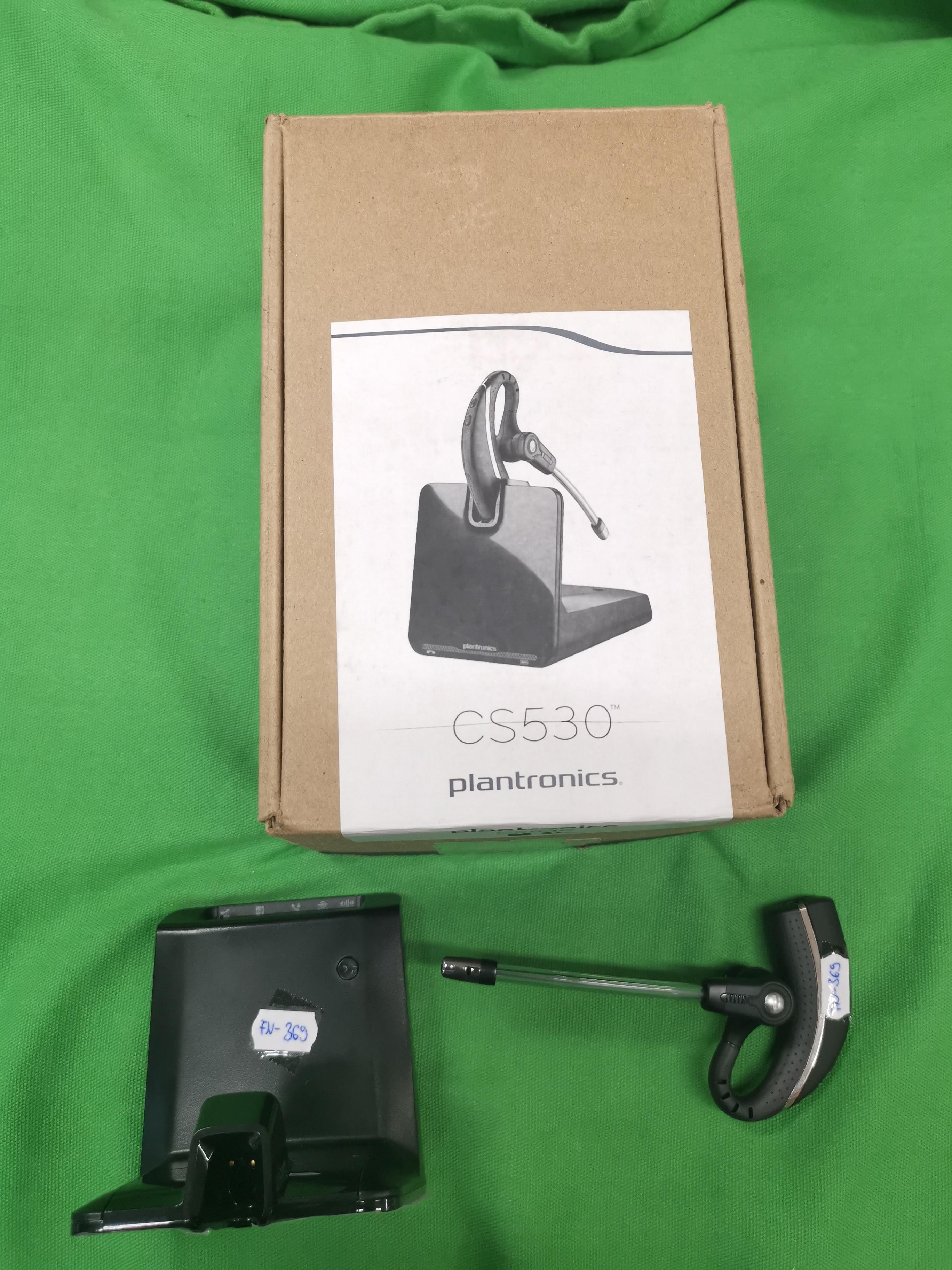 Plantronics CS530 headset, kiemelt kép