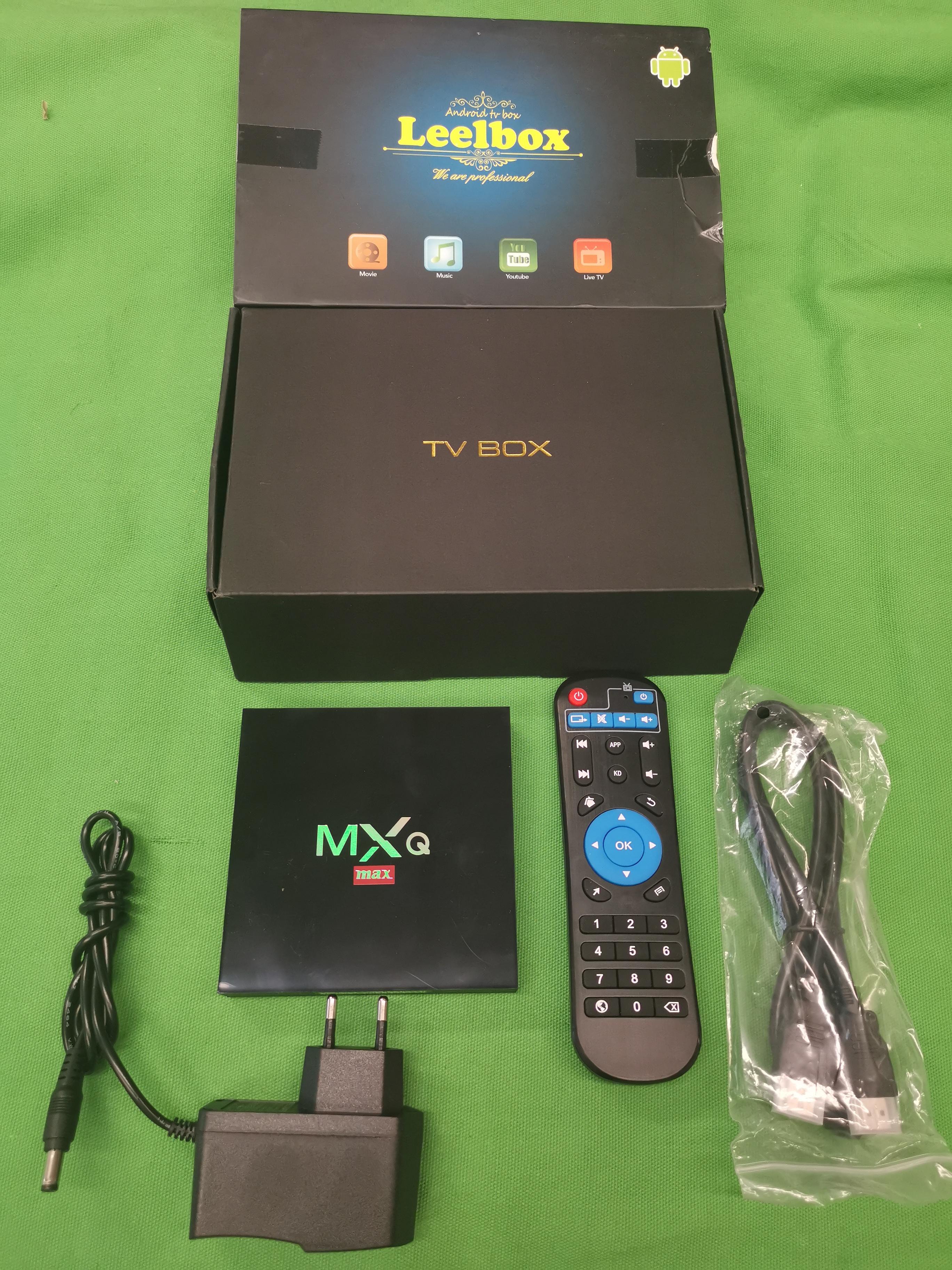 MXQ Max Androidos 4K Tv okosító box, kiemelt kép