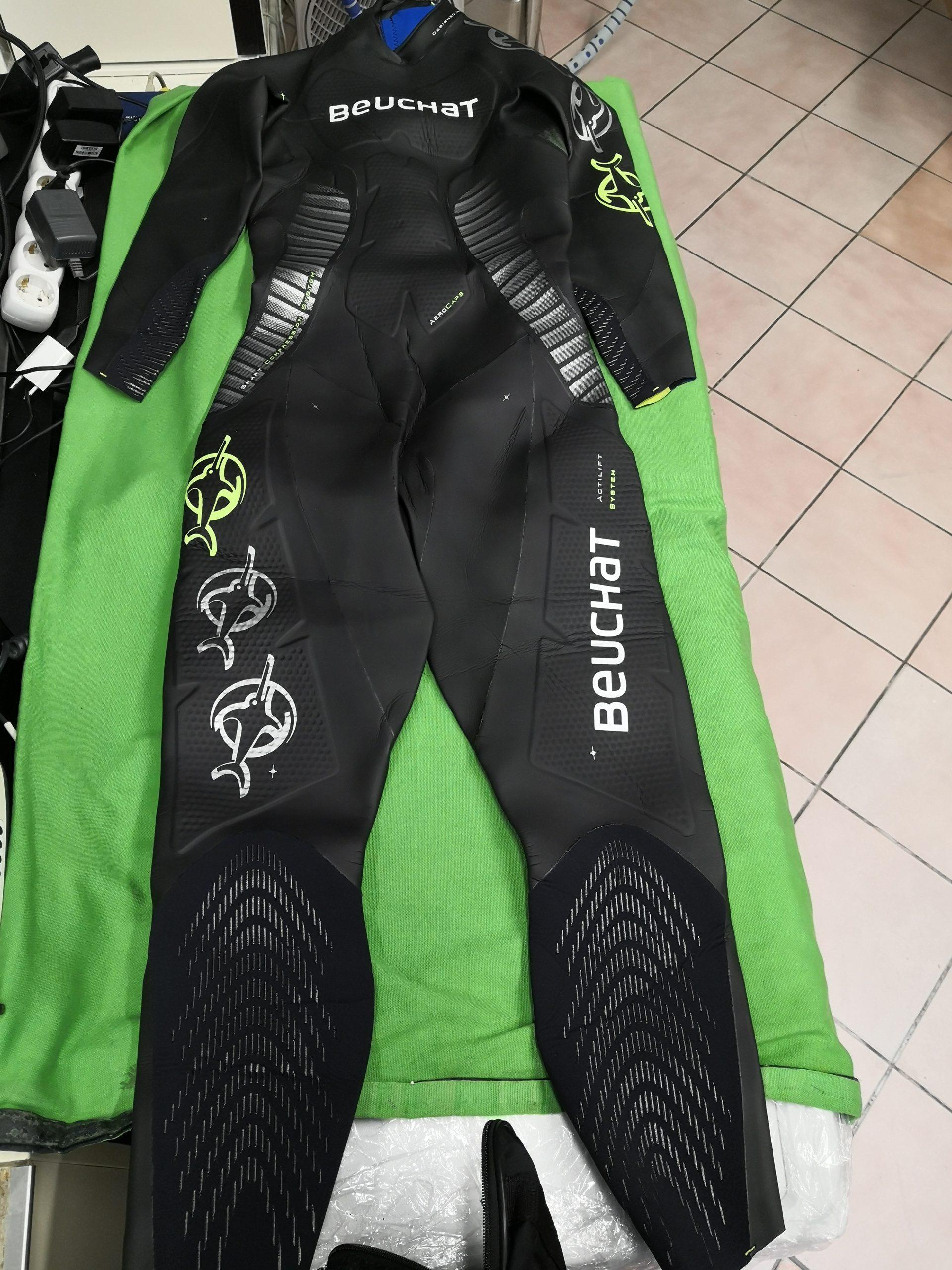 Beuchat Crawl C800 férfi  hosszútávúszó öltözet (triatlon, vizisportok), kiemelt kép