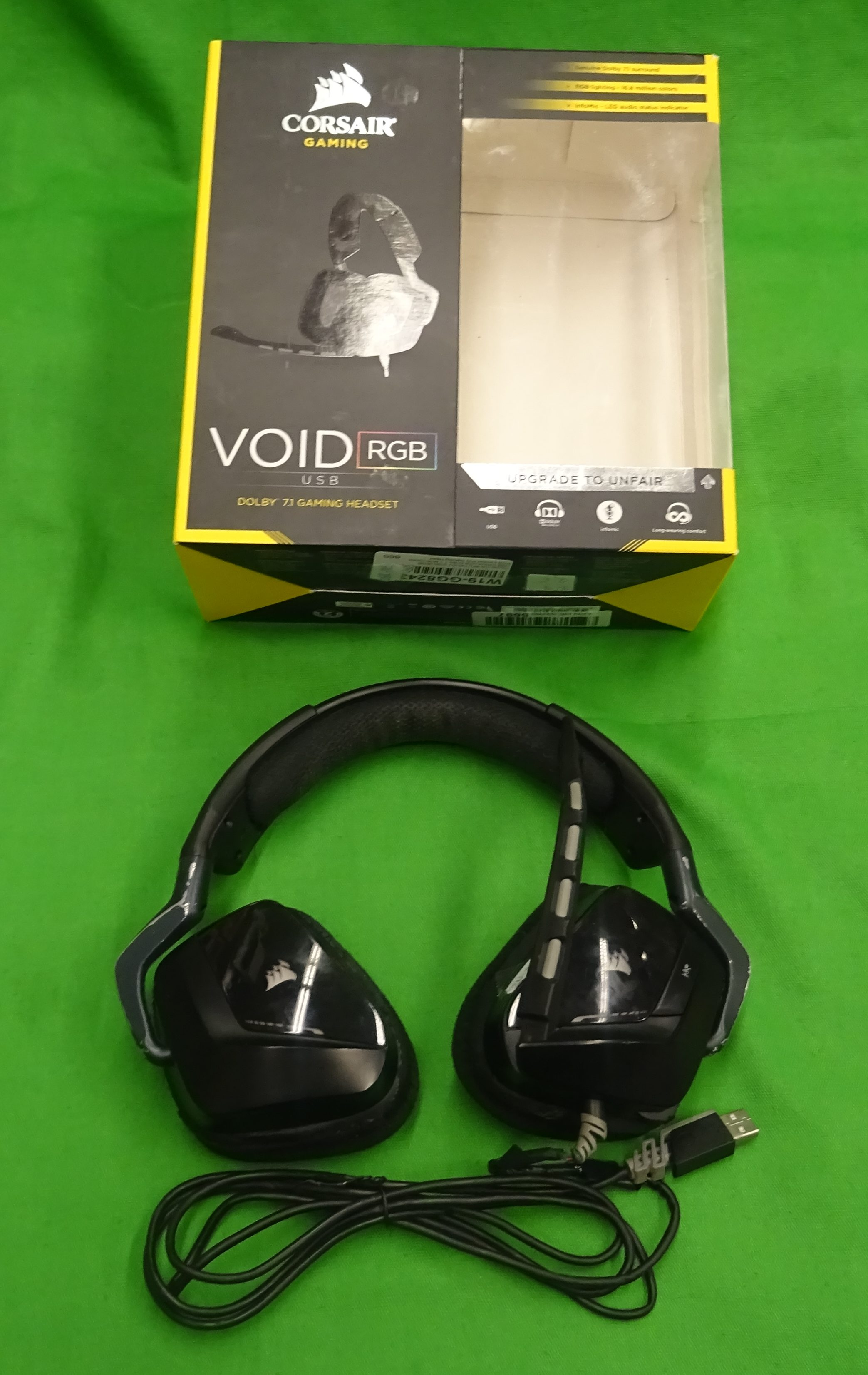 Corsair VOID PRO RGB USB Gamer Headset, kiemelt kép