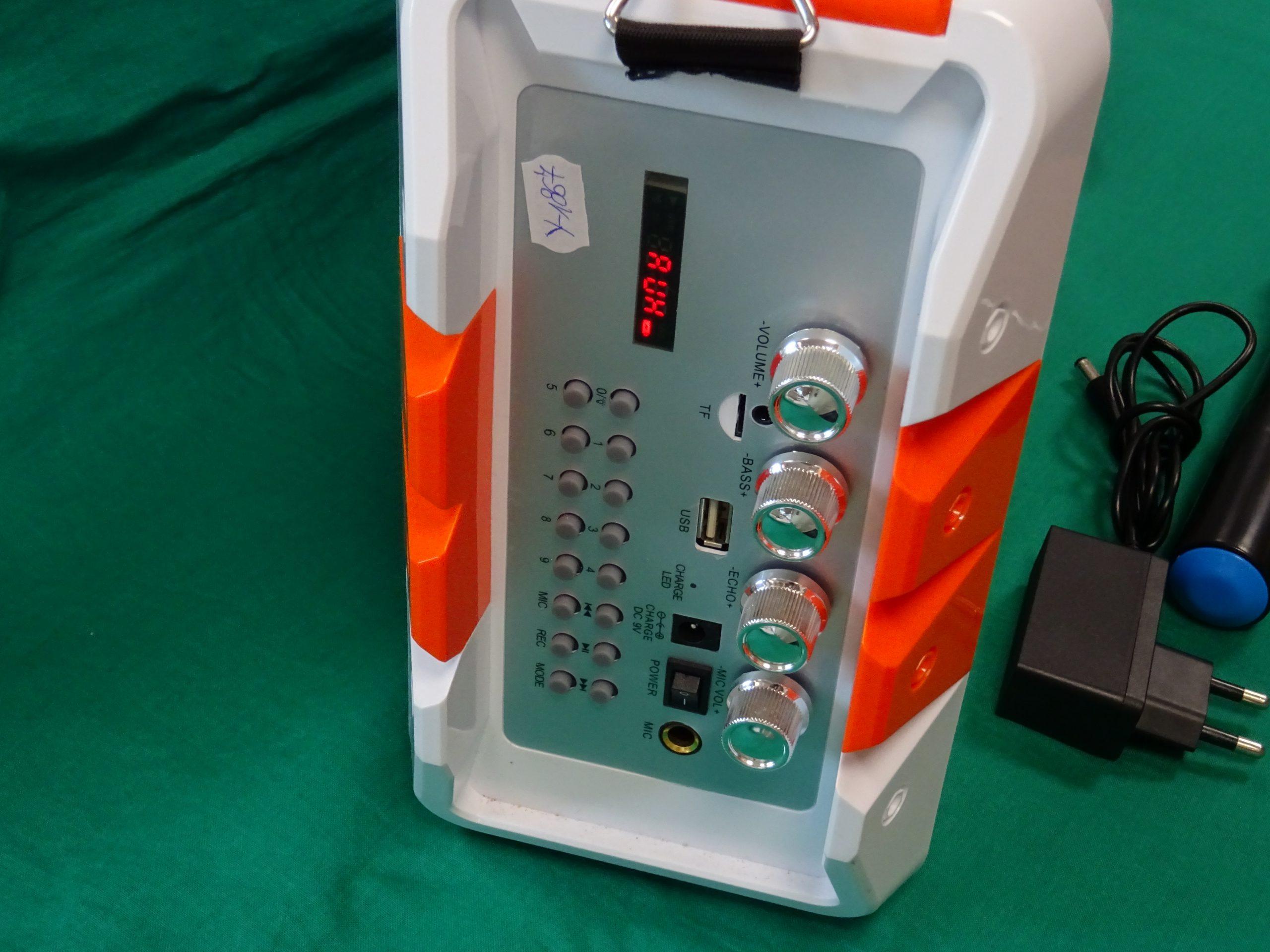 D-power K50led BT. hangszoró+Mikrofon, kiemelt kép