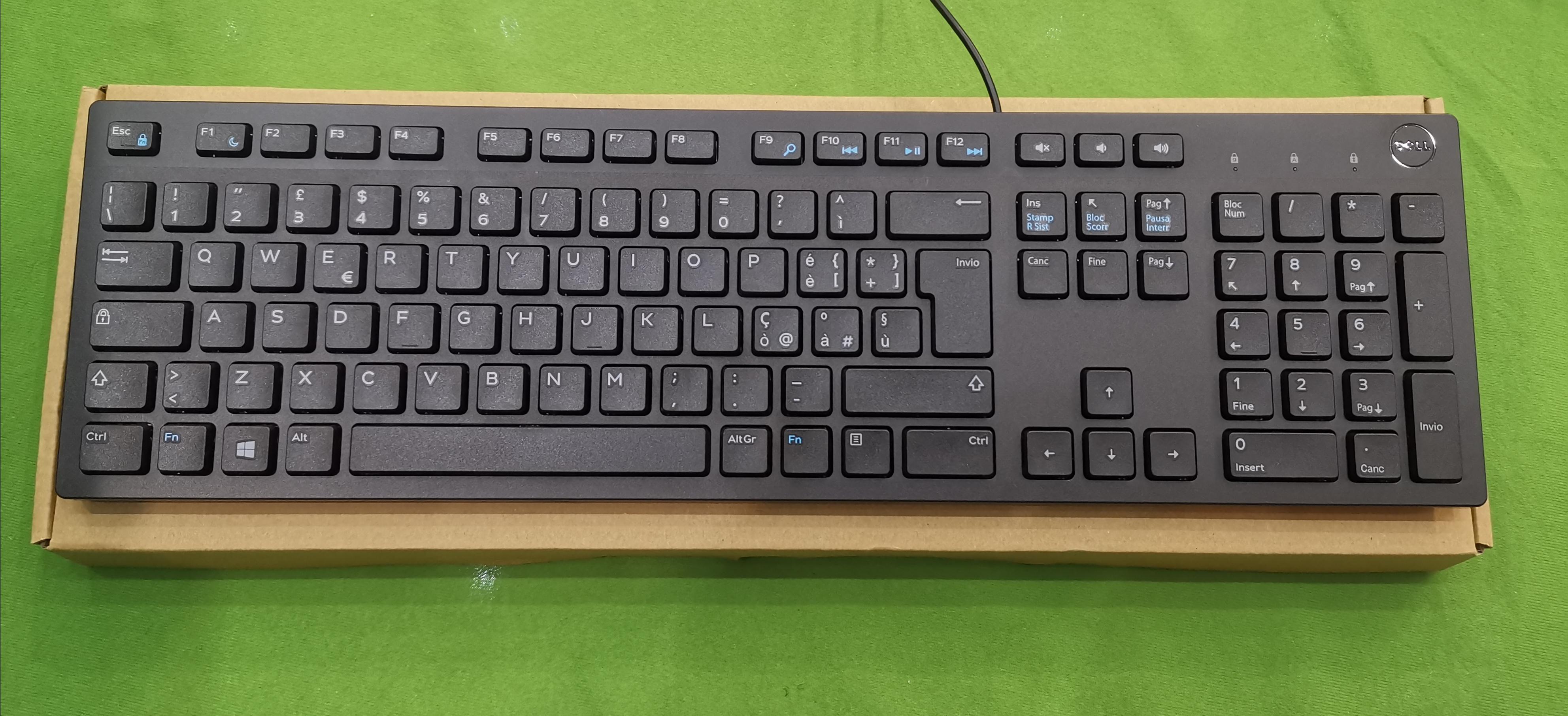 Dell KB216 vezetékes billentyűzet #, kiemelt kép