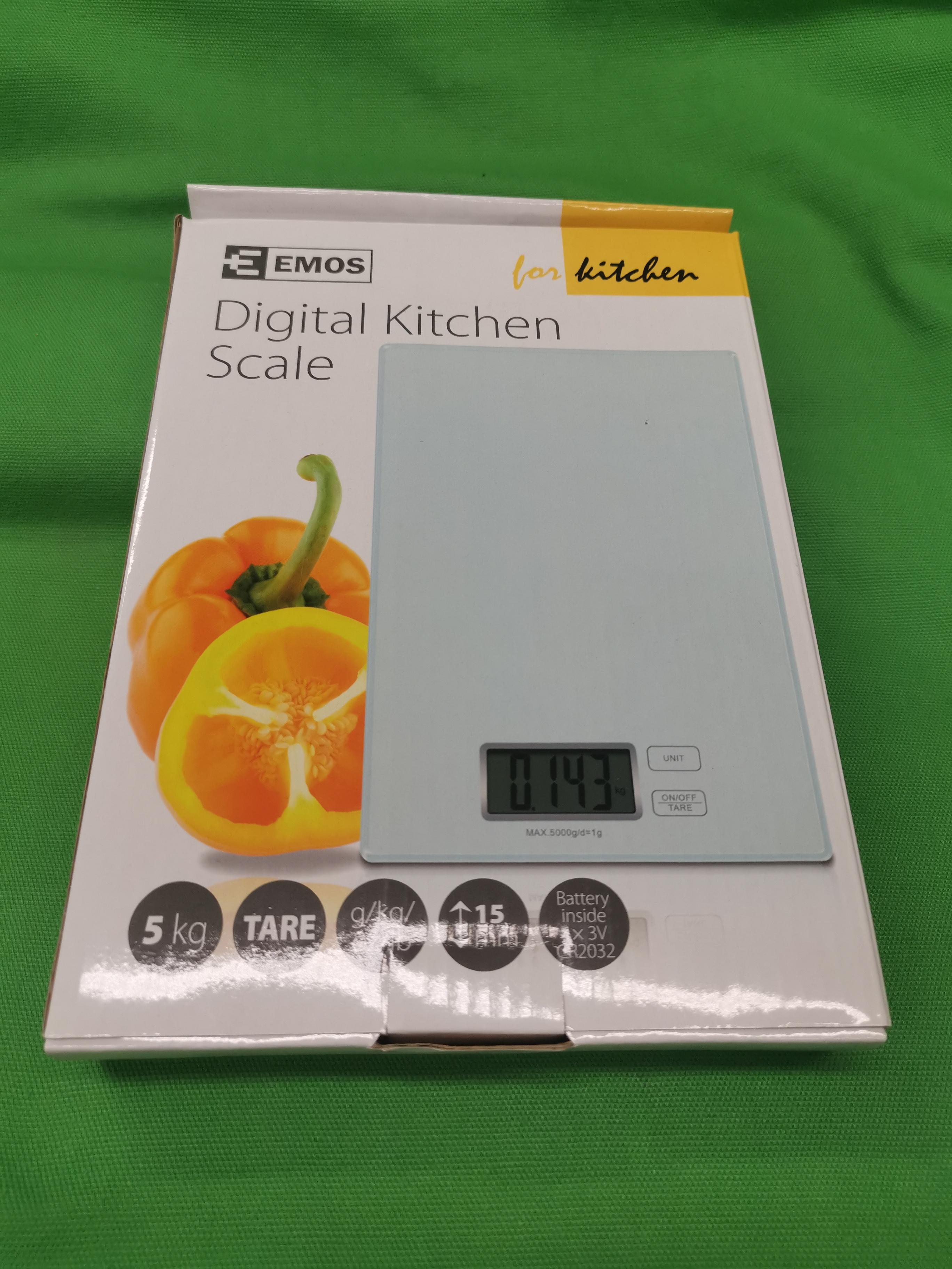 Emos EV014 digitális konyhai mérleg, Új, kiemelt kép