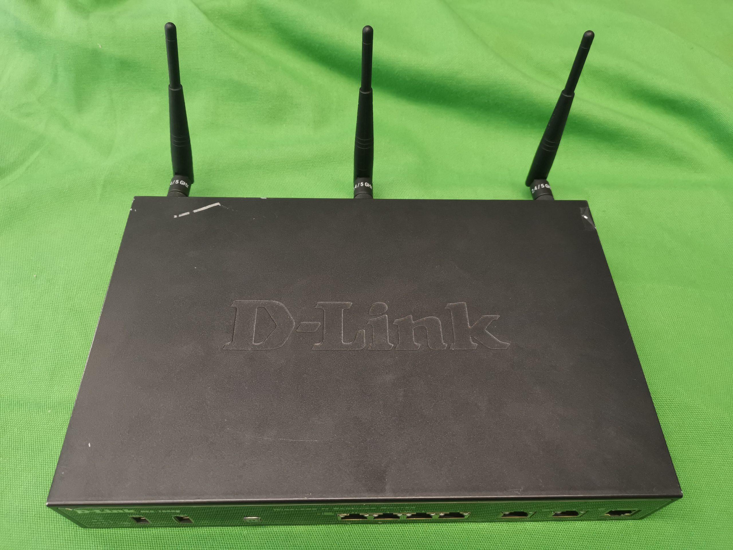 D-Link DSR-1000N Router, kiemelt kép